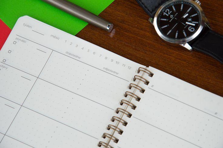 WEEK PLANNER je perfektní nediář pro jakékoliv použití #weeklyplan #diary #planner #cleverminds
