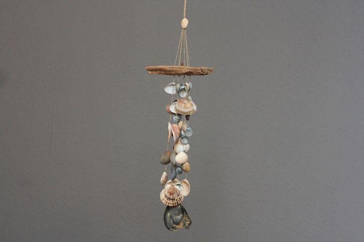 Traumfänger & Mobiles - Großes buntes Muschel-Mobile Windspiel - ein Designerstück von Prinzessin-Schluesselblume bei DaWanda