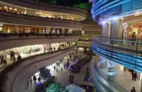 Kanyon shopping center, Istanbul.