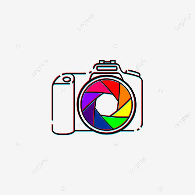 Colorful Lens Capture In Camera Vector Illustration Good Template For Photography Design Camera Clipart Photography Photo Png And Vector With Transparent Bac Photo Logo Design Camera Illustration Camera Drawing