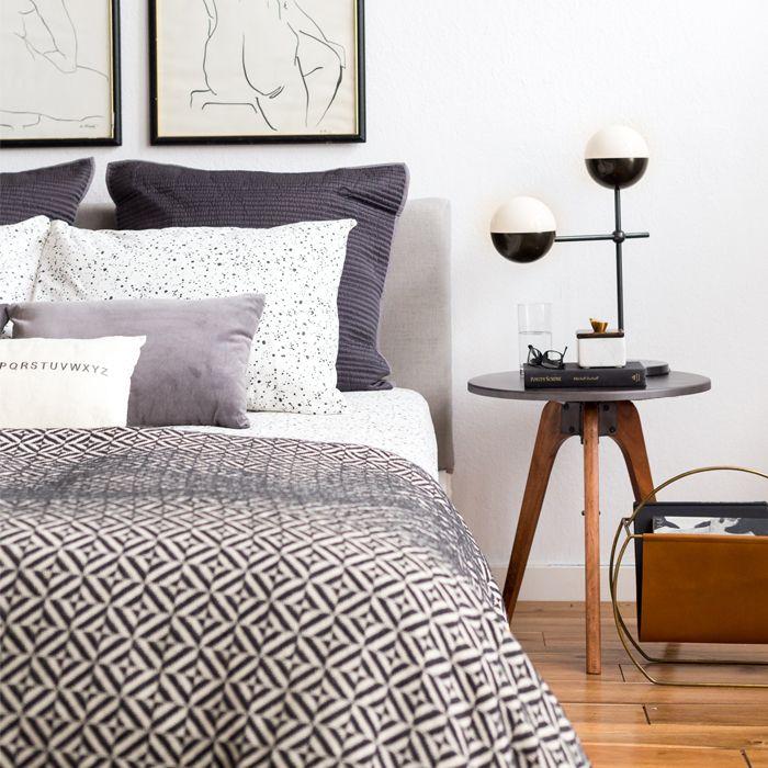 1 Bed 4 Ways: Masculine Clean Modern (via Bloglovin.com )