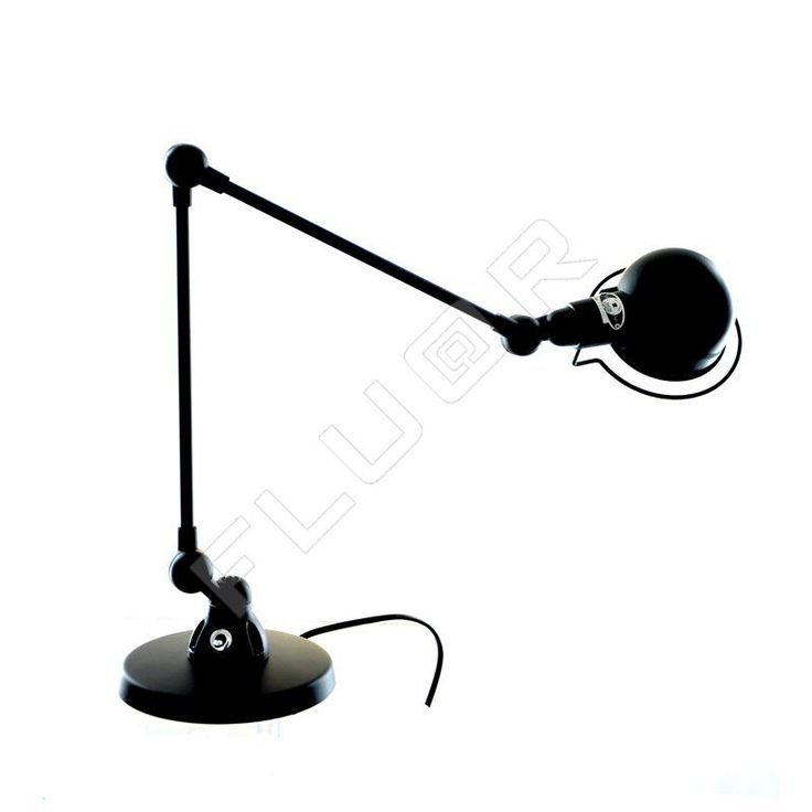 Lampe à poser Signal noir mat - Jieldé