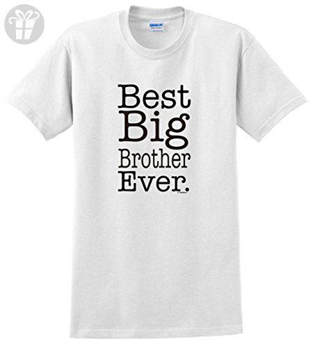 Birthday Gifts for Big Brother Birthday Gifts Best Big Brother Ever Big Brother T-Shirt 2XL White - Birthday shirts (*Amazon Partner-Link)