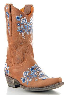 Womens Old Gringo Sora Boots Oryx via @Allens Boots