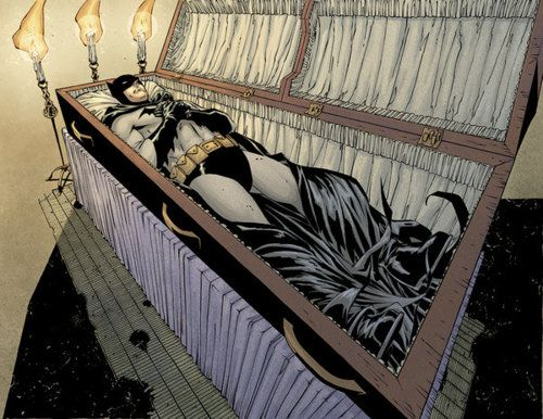"""Andy Kubert drew this for the title page of one of the two issues for the post Batman RIP story """"What Ever Happened to the Caped Crusader?""""  which was written by Neil Gaiman. The title is a nod to Alan Moore's classic """"Whatever Happened to the Man of Tomorrow?"""" story done about Superman, right before the  """"Crisis on Infinite Earths"""" crossover/reboot."""