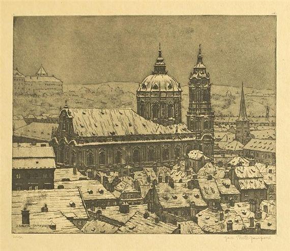 JAROMÍR STRETTI ZAMPONI (1882-1959) Cathedral of St. Nicholas