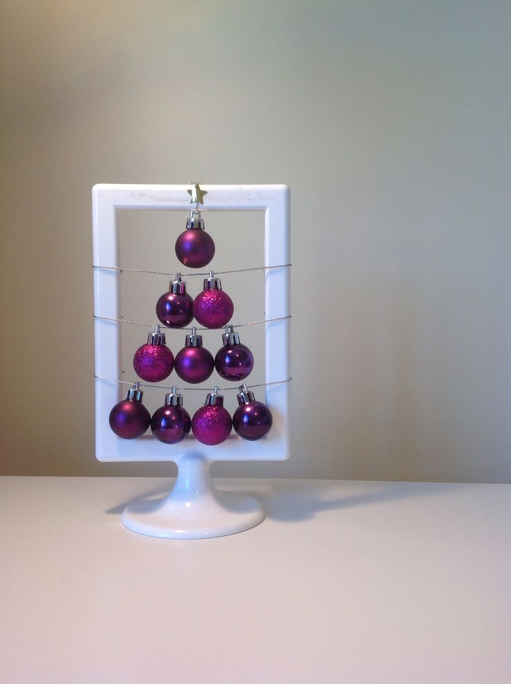 Bauble XMAS Tree in Frame
