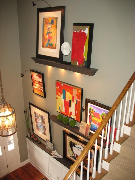 Foyer Lighting Jobs : Delicious decor how to decorate a high ledge in