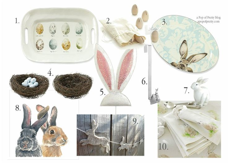 Easter ideas 10 fab decor finds easter for Decorating blogs canada