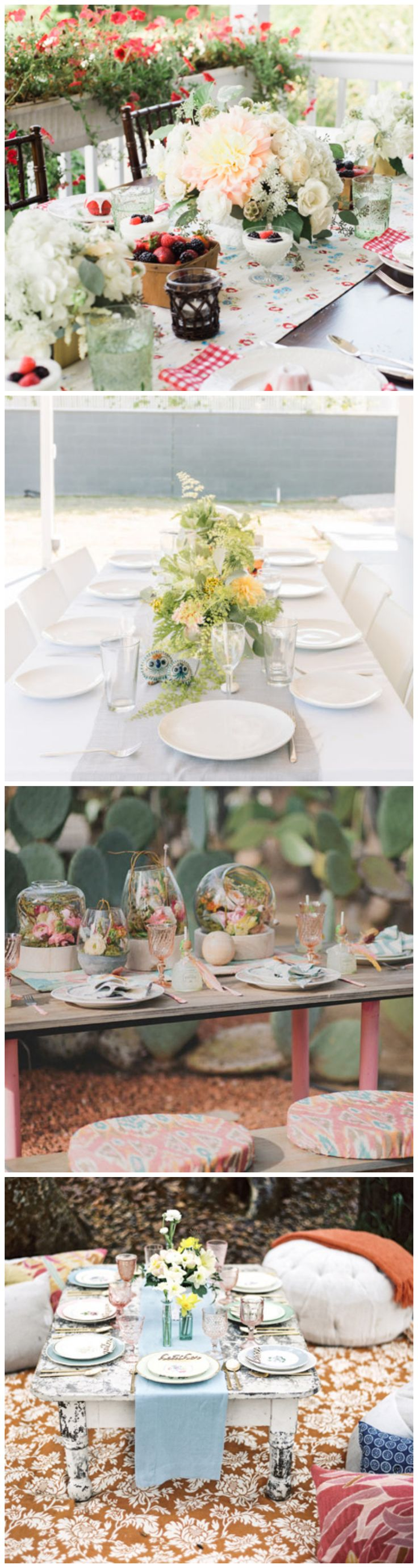 14 Tablescape Ideas for a Stunning Bridal Shower. Girl ShowerTable SettingsTablescapesFor ... & 212 best Table Setting Ideas images on Pinterest | Desk layout ...