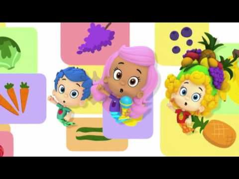 Bubulle Guppies | Les fruits et les légumes | NICKELODEON JUNIOR