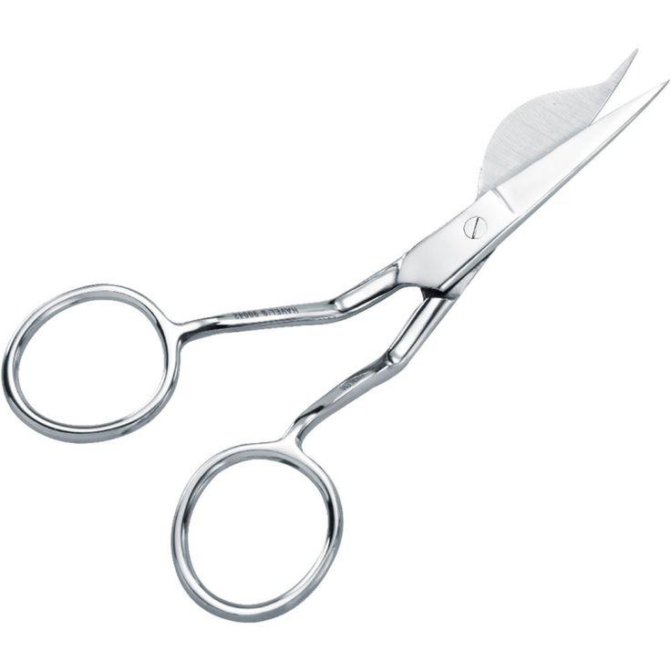 "Double-Pointed Duckbill Applique Scissors 6"" - Left Handed"