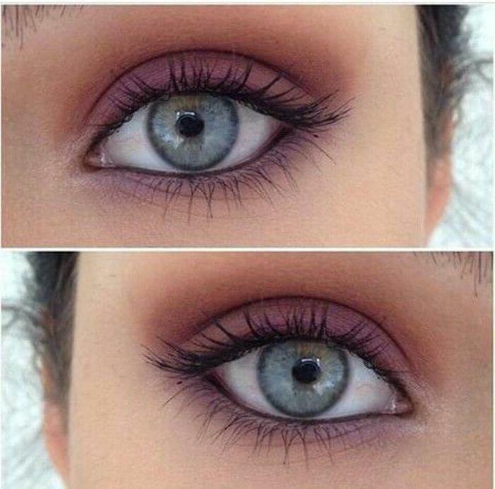 Makeup Ideas: Comment maquiller les yeux bleus. Le maquillage des stars!