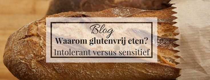 Waarom glutenvrij eten? - Glutenintolerant versus glutensensitief