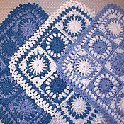 Для дома и интерьера ручной работы. Ярмарка Мастеров - ручная работа Зимняя мозаика Коврик на табурет. Handmade.