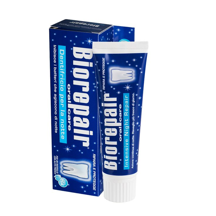 Biorepair Night - Profilaktyczna pasta do zębów, idealna na noc, ŚWIEŻY ODDECH!
