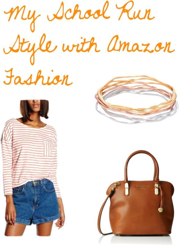 My school run style with amazon fashion. Oh my goodness so  in love with People tree's organic cotton and this soft bag and stunning bangle and the whole outfit comes in at less than £50 !