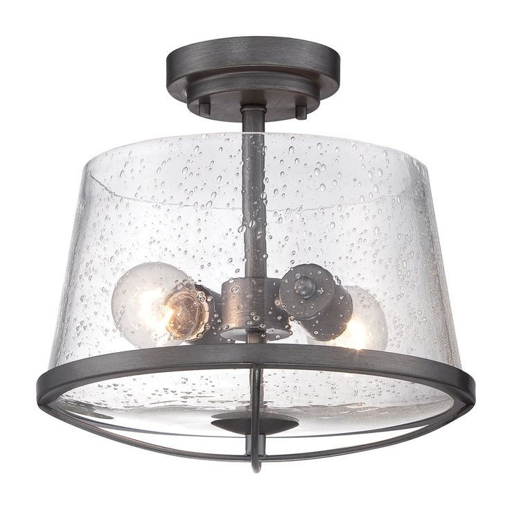 Designers fountain 87011 darby semi flush ceiling light atg stores