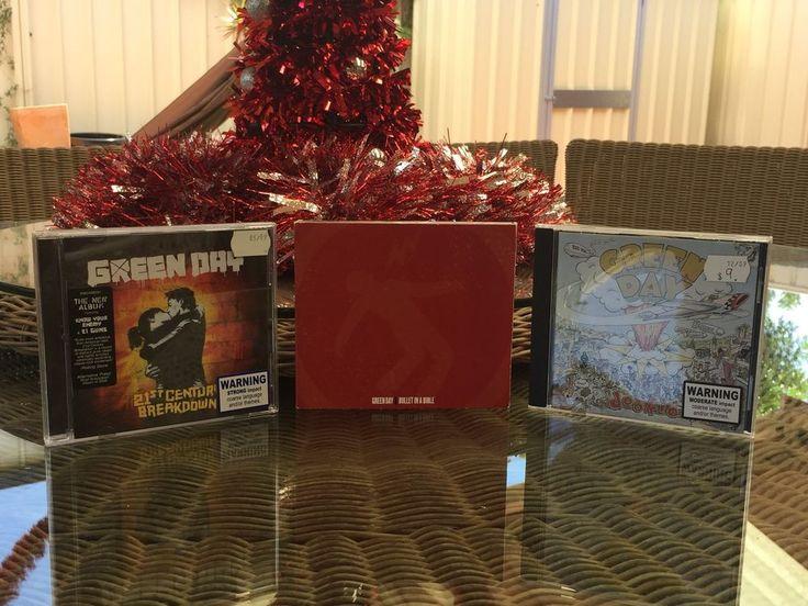 Green Day Music Band  / Group 3 x CD Set Bundle  | eBay