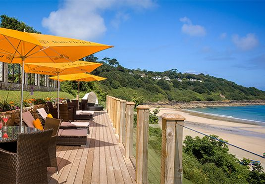 Carbis Bay Hotel & Spa - An award-winning hotel in beautiful Carbis Bay, with breakfast, one five-course dinner and more. Absolutely stunning!!! £300 a night approx
