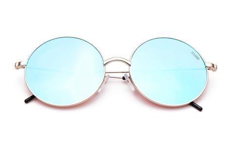 THE SUPER SONIC REVO | Óculos de Sol Redondo Flatlens Grande Semi-Espelhado com…