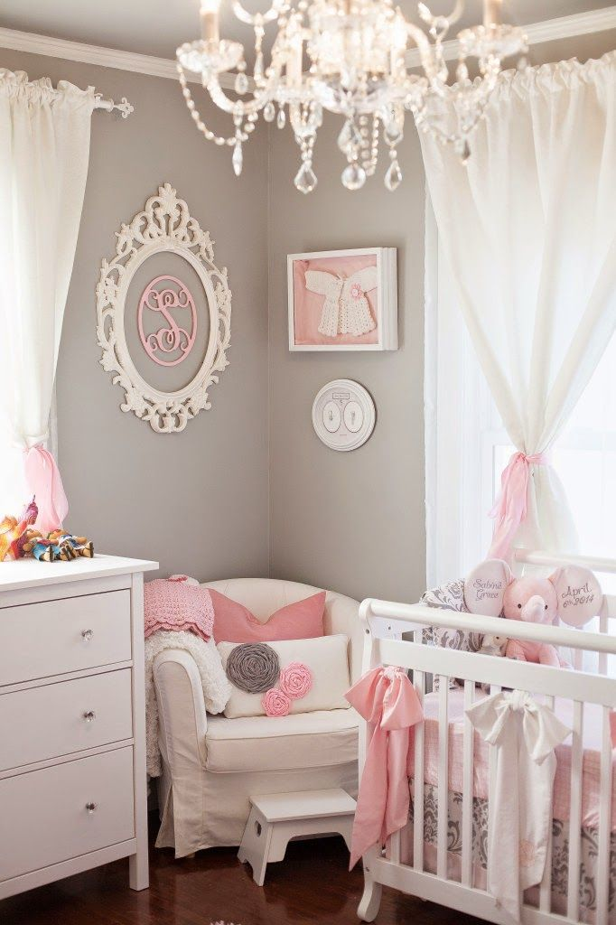1629 best baby nursery images on pinterest child room babies 19 pink and grey nursery baby girlbaby solutioingenieria Choice Image