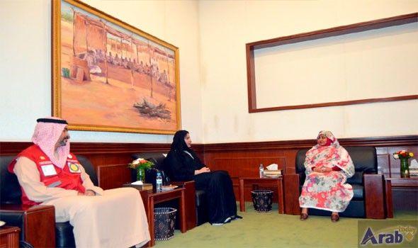 Sudan's first lady hails Sheikha Fatima's global humanitarian work