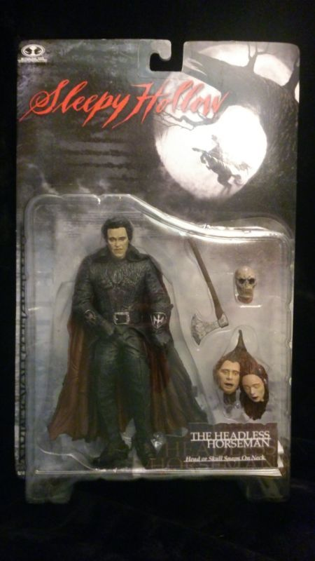 The Horseman!  And he ACTUALLY looks like Christopher Walken! http://www.ebay.ca/usr/collectiblesbycandb
