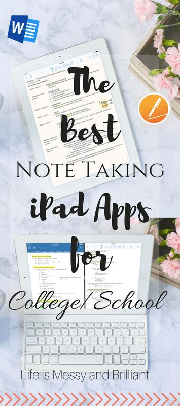 College Guide: The Best Note Taking Apps for iPad in College