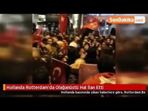 Great  Videos Unzensiert Krawalle von T rken in Rotterdam Behoerdenstress