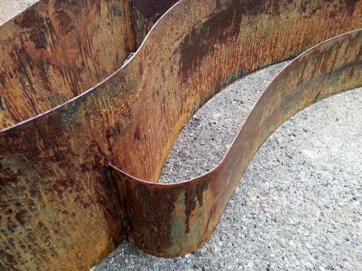 Oltre 25 fantastiche idee su acciaio corten su pinterest for Lamiera corten prezzo