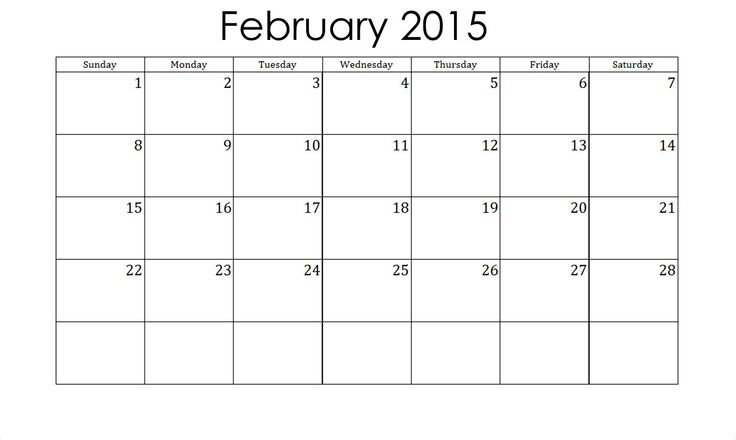 Download Free Calendar February 2015 Printable Template, Excel, Word, PDF. February 2015 Calendar With Holidays, Wallpaper, Vertex, Pictures, Images.