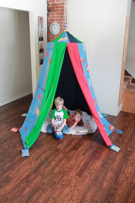 Handmade Children's play tent made with by colouraddiction on Etsy, $121.00