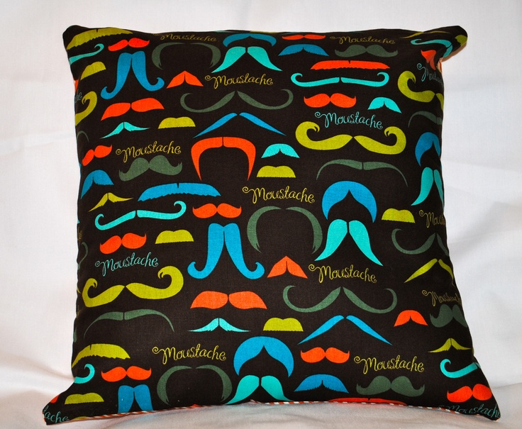 Mustache Pillow Diy Ideas And Projects Pinterest