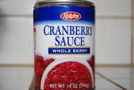 Five ways to liven up canned cranberries for Thanksgiving: *Cranberry Orange Relish, *Zesty Cranberries and Orange Juice, *Cranberries and Cinnamon, *Cranberry Apple Relish, or *Cranberry Sauce with Bacon, Walnuts, and Gorgonzola.