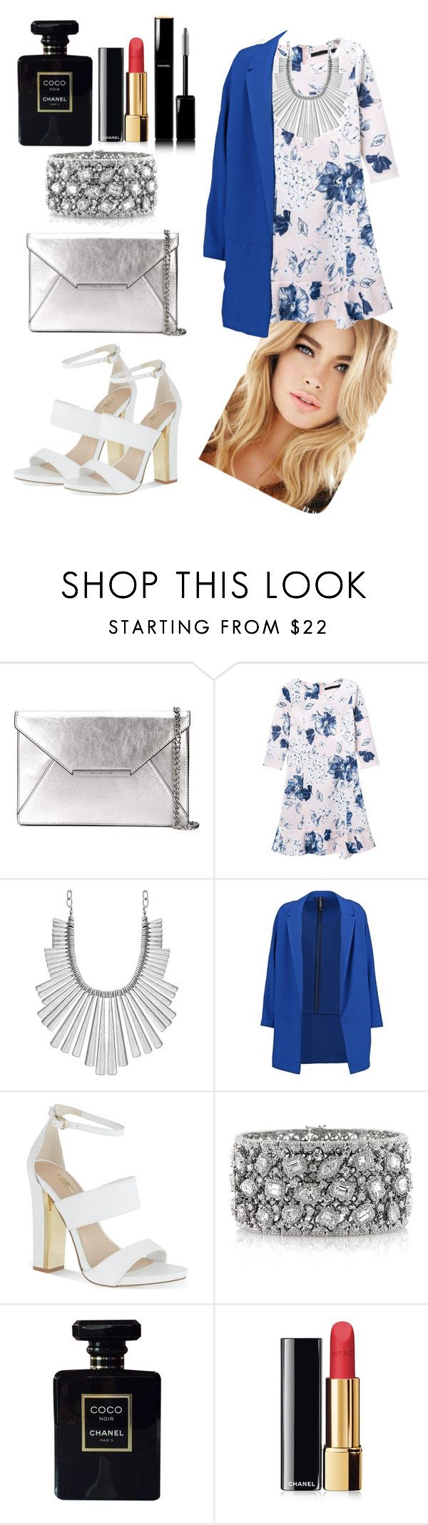 """""""Untitled #191"""" by danny-rv ❤ liked on Polyvore featuring beauty, MICHAEL Michael Kors, Lucky Brand, Dorothy Perkins, Carvela, Mark Broumand and Chanel"""