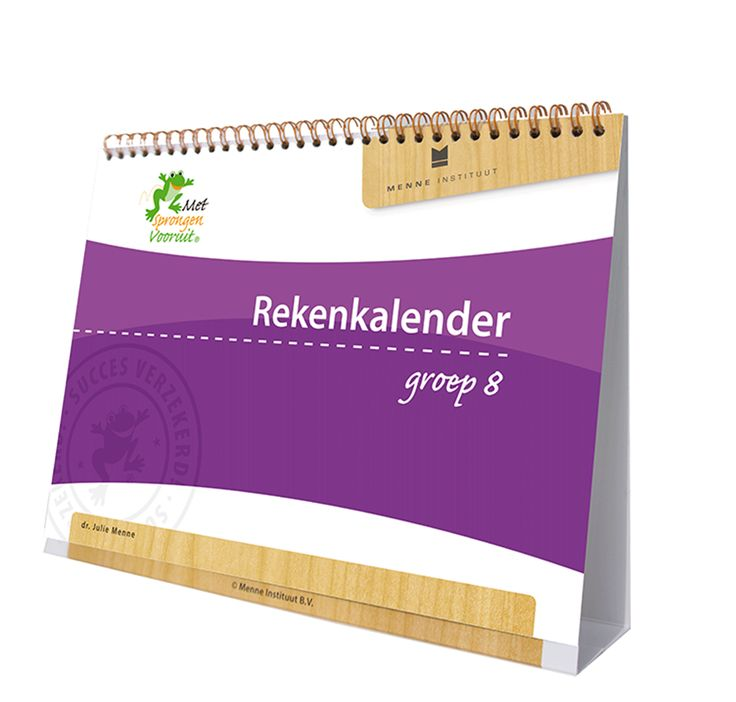 groep 8 Rekenkalender