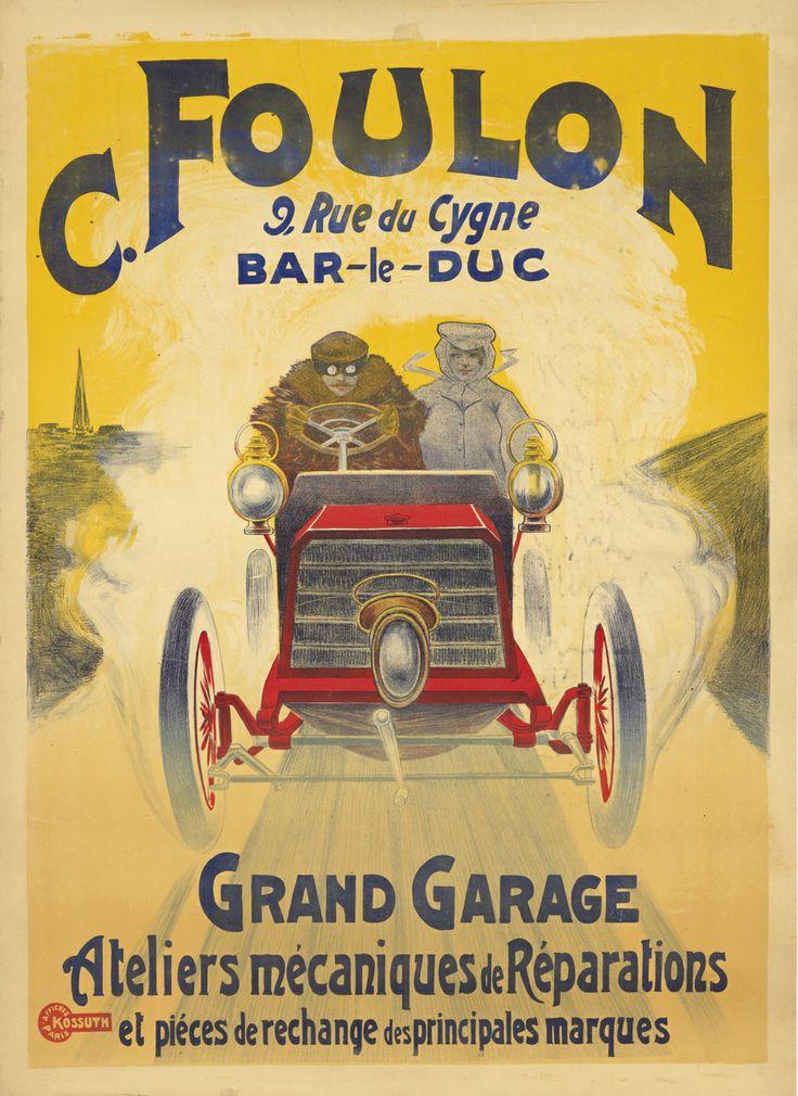 12 best Vintage Automobile Posters images on Pinterest   Cars ...