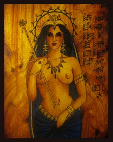 Goddess Ishtar  From the land where Lilith was born