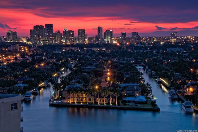 The city in which I reside! Ft. Lauderdale, FL