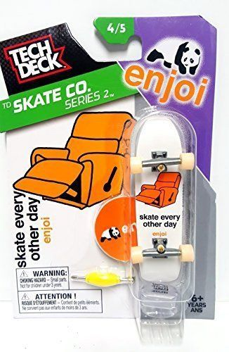 Tech Deck TD Skate Co. Series 2 Enjoi Skateboard Skate Every Other Day 4/5