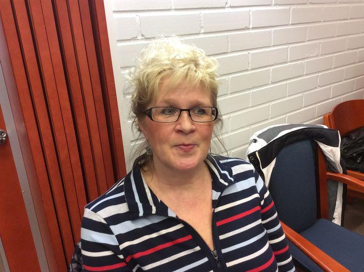 Erja Haikarainen on ravitsemistyöntekijä Juvan koulukeskuksessa.