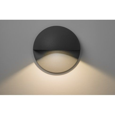 adjustable outdoor recessed soffit light fitting. tivoli single light led recessed outdoor wall fitting in black finish adjustable soffit c