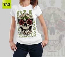T-SHIRT Vintage Mexican Skull Teschio Messicano woman maglia donna http://www.ebay.it/itm/T-SHIRT-Vintage-Mexican-Skull-Teschio-Messicano-woman-maglia-donna-/181695886088