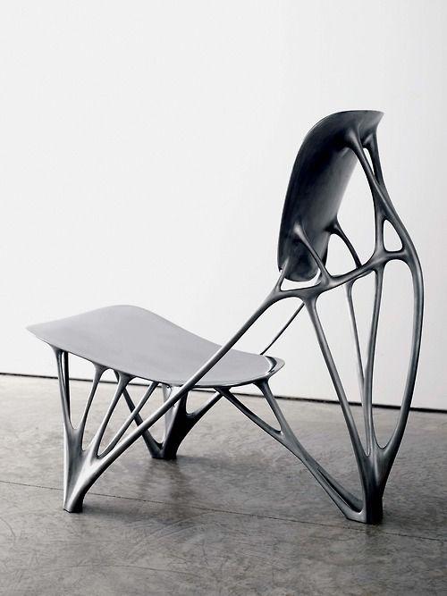 Joris Laarman is working with carmaker Opel to design a range of furniture based on the way bones grow.