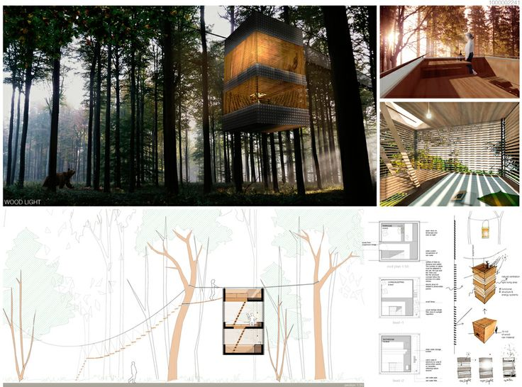 Architecture Drawing Competition 2014 12 best results of the competition triumph architectural treehouse