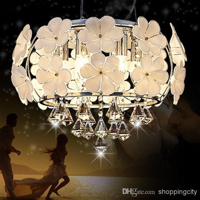 Art Und Weise Fhrte Kristallhngendes Helles Modernes Kurzes Gaststttelicht Hngendes Wohnzimmerkristalllampe Schlafzimmerlampenbeleuchtung