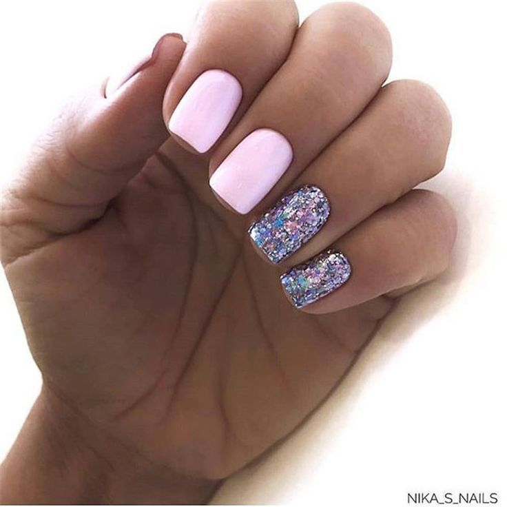 Manicure Novelty Page Short Summer Nails Trends 2019 2020 Novelty And Tre Nail Trends Pink Gel Nails Square Nails Short Square Nails
