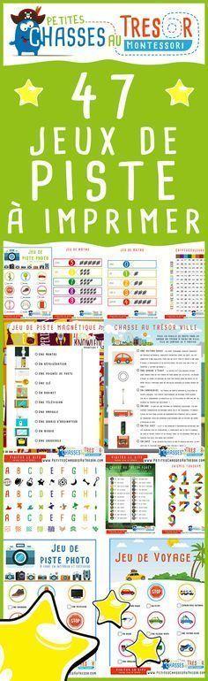 Jeux de piste à imprimer pour enfant. des activités d'aventures et de découvertes du monde pour les enfants.