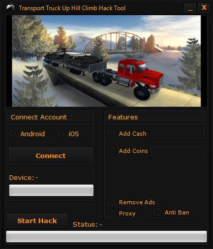 Transport Truck Up Hill Climb Hack Tool